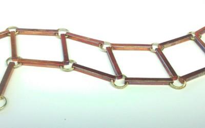 Armband Gold & Kupfer