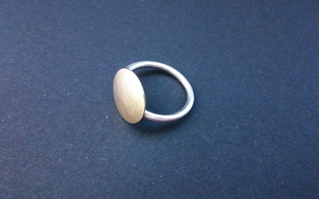 Gold-Silber Ring