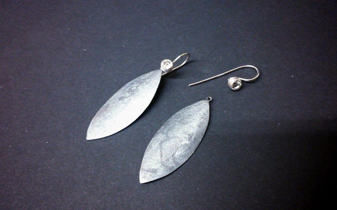 Ohrhänger mit Bergkristall